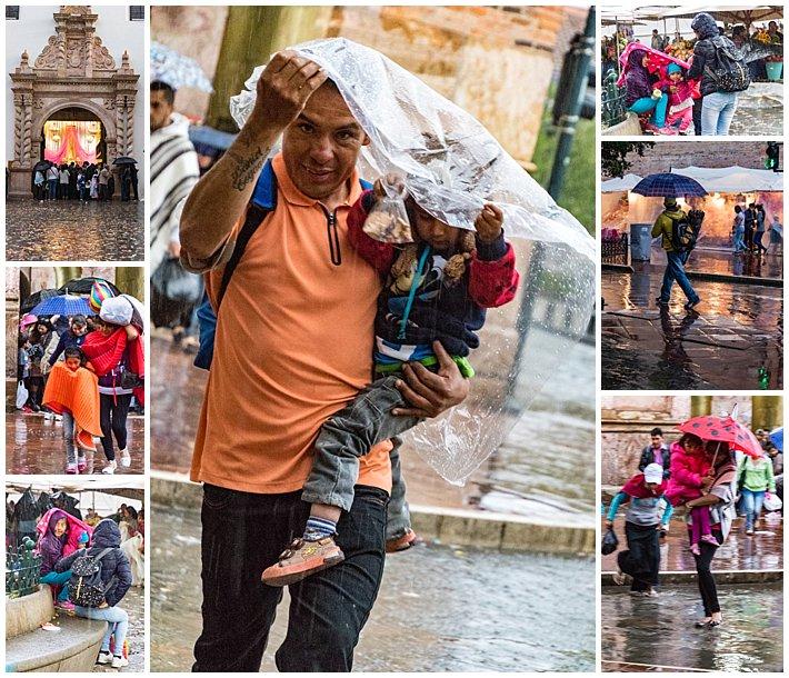 Pase de Niño 2016, Cuenca, Ecuador - rain