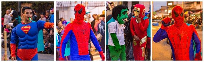 Fools Inocentes Parade 2017 - Cuenca, Ecuador - superheros