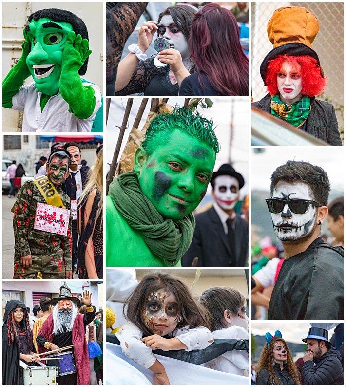 Fools Inocentes Parade 2017 - Cuenca, Ecuador - masks