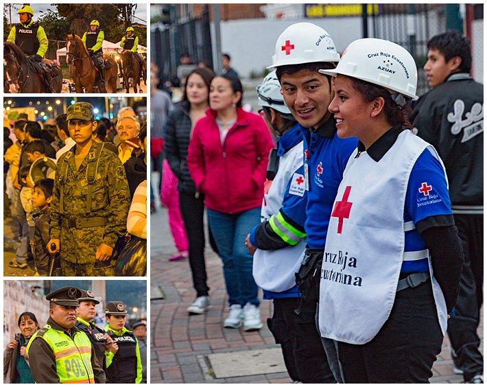 Fools Inocentes Parade 2017 - Cuenca, Ecuador - police