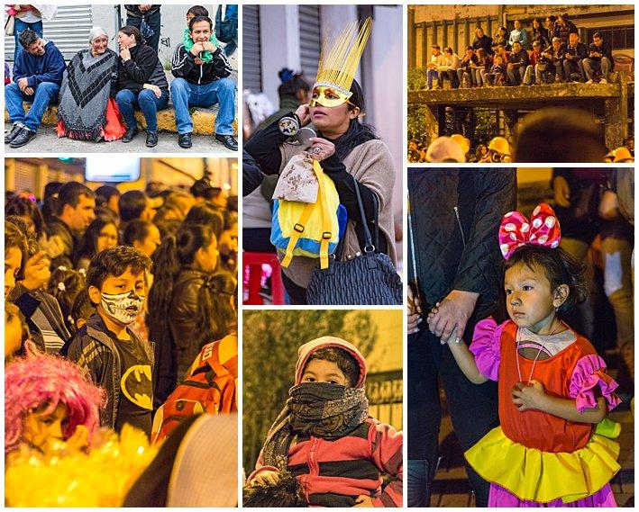Fools Inocentes Parade 2017 - Cuenca, Ecuador - audience