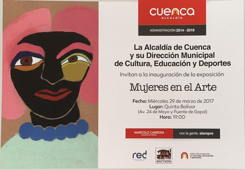 Women In Art 2017 Cuenca, Ecuador postcard