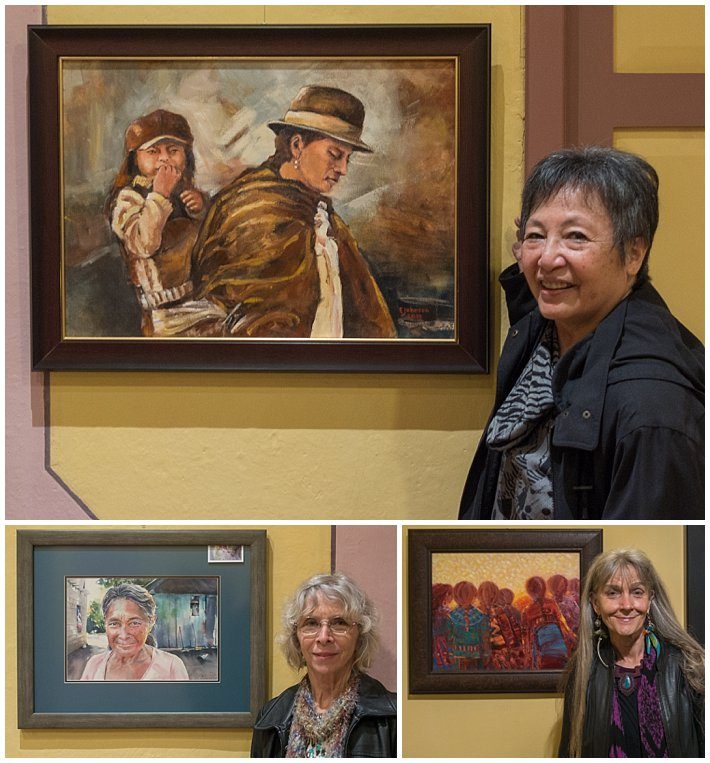 Women In Art 2017 Cuenca, Ecuador artists