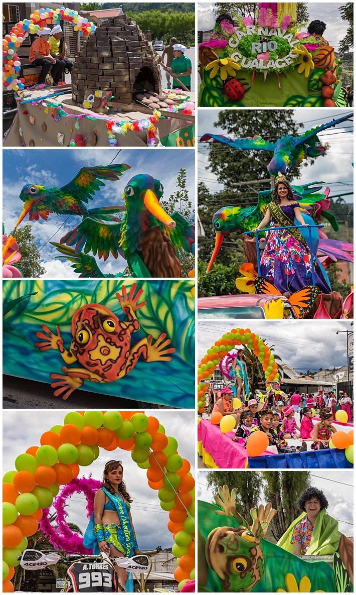 Gualaceo Ecuador Carnaval 2017 - floats