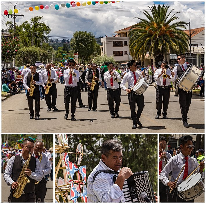 Gualaceo Ecuador Carnaval 2017 - music