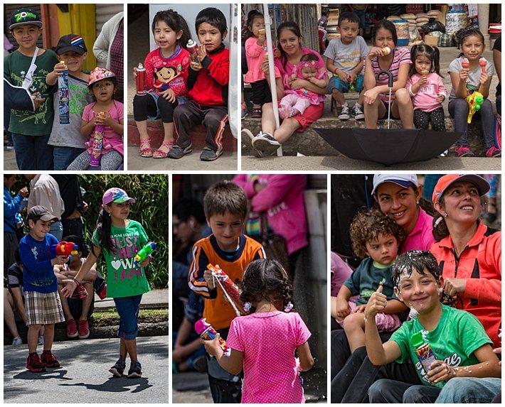 Gualaceo Ecuador Carnaval 2017 - kids