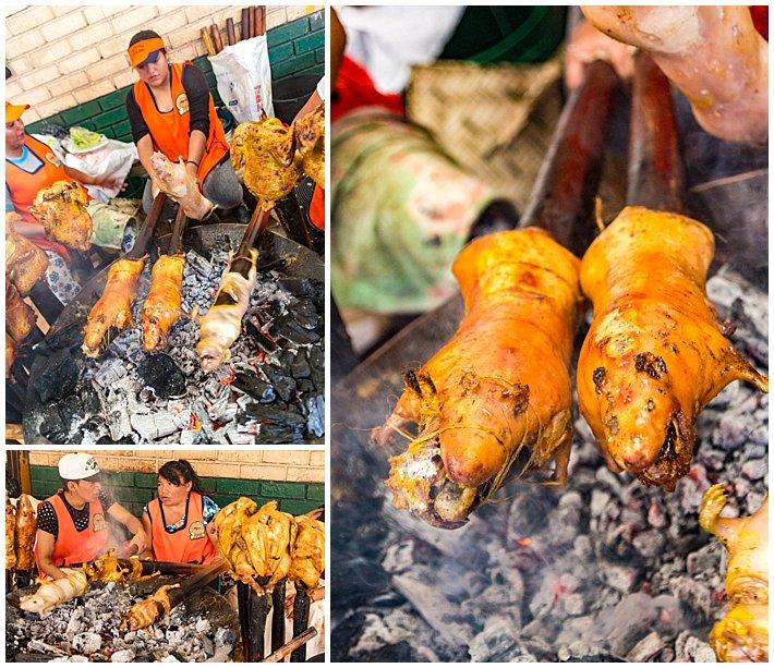 Gualaceo Ecuador Carnaval 2017 - cuy