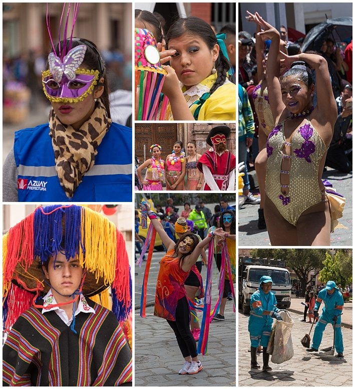Orquidea Parade 2017 in Cuenca, Ecuador - misc