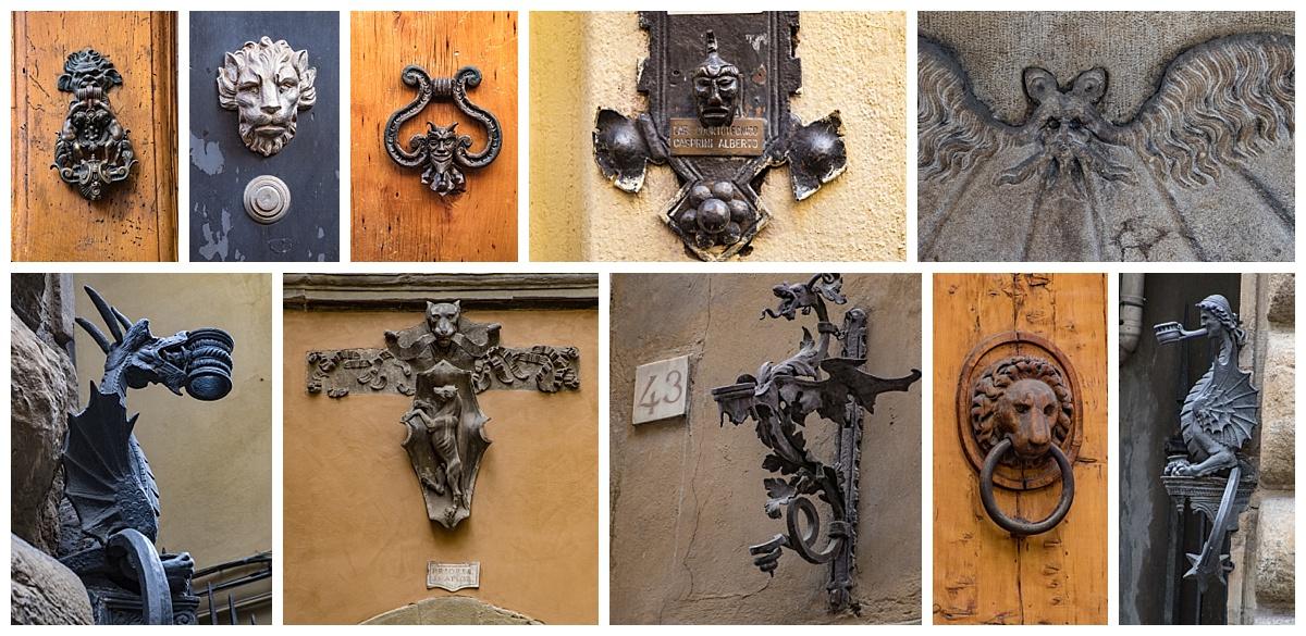 Florence, Italy doorknobs