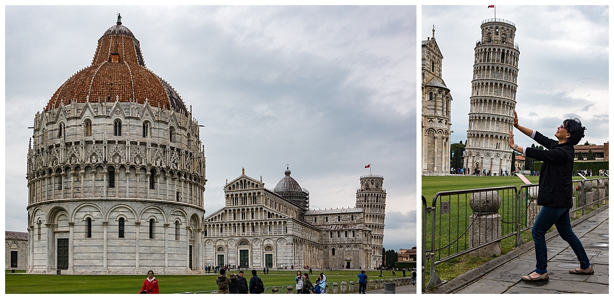 Pisa, Italy - leaning tower