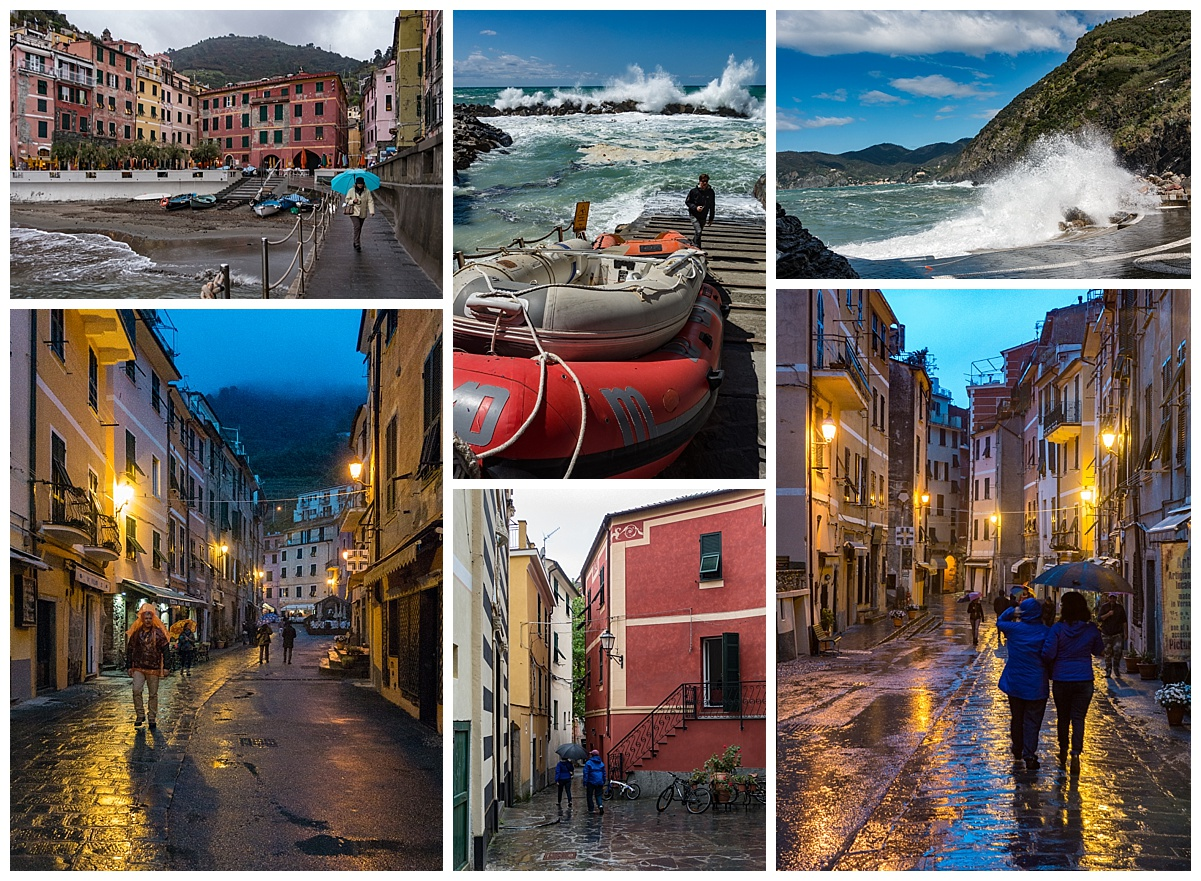 Cinque Terre, Italy - storm