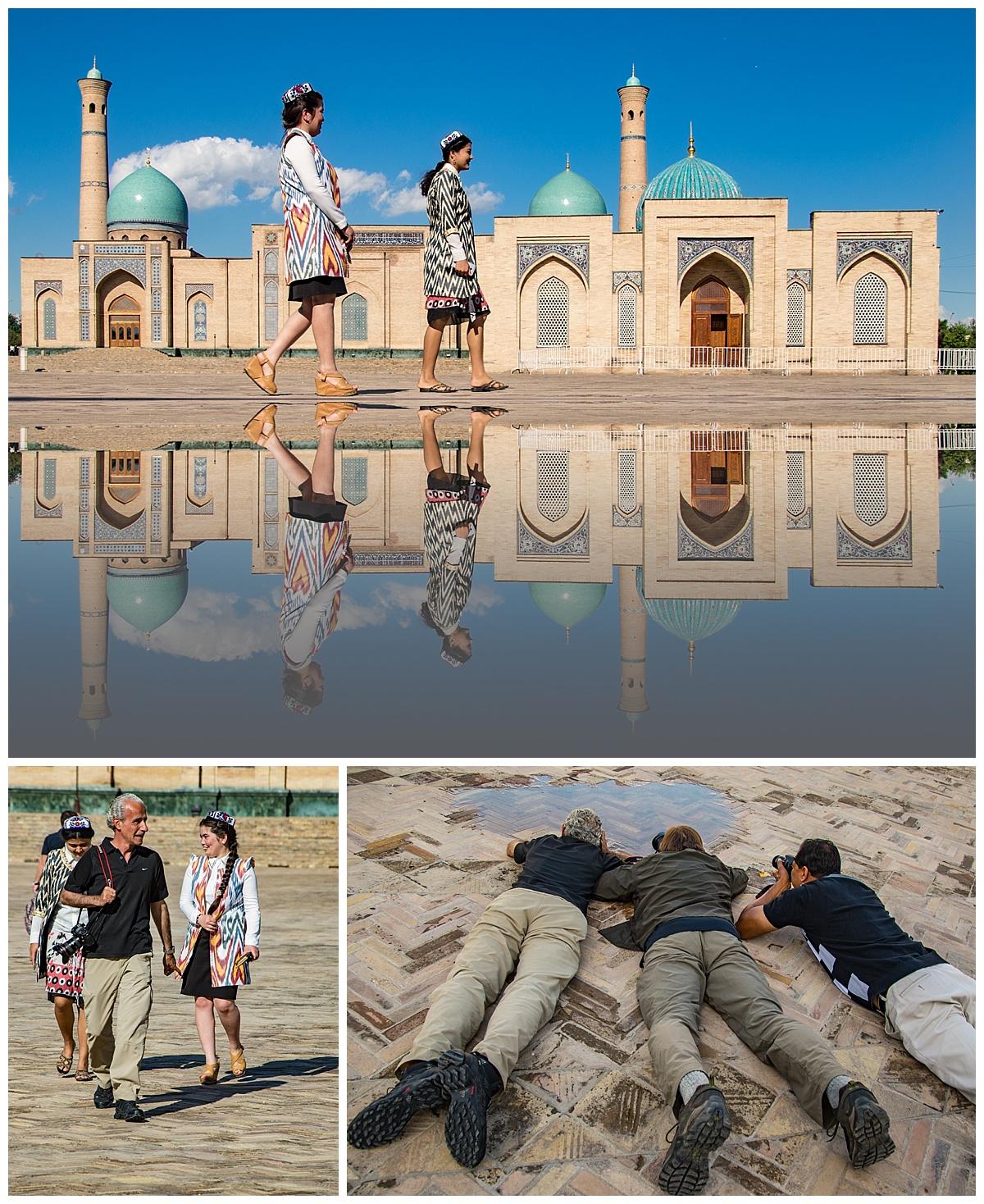 Tashkent, Uzbekistan - reflection