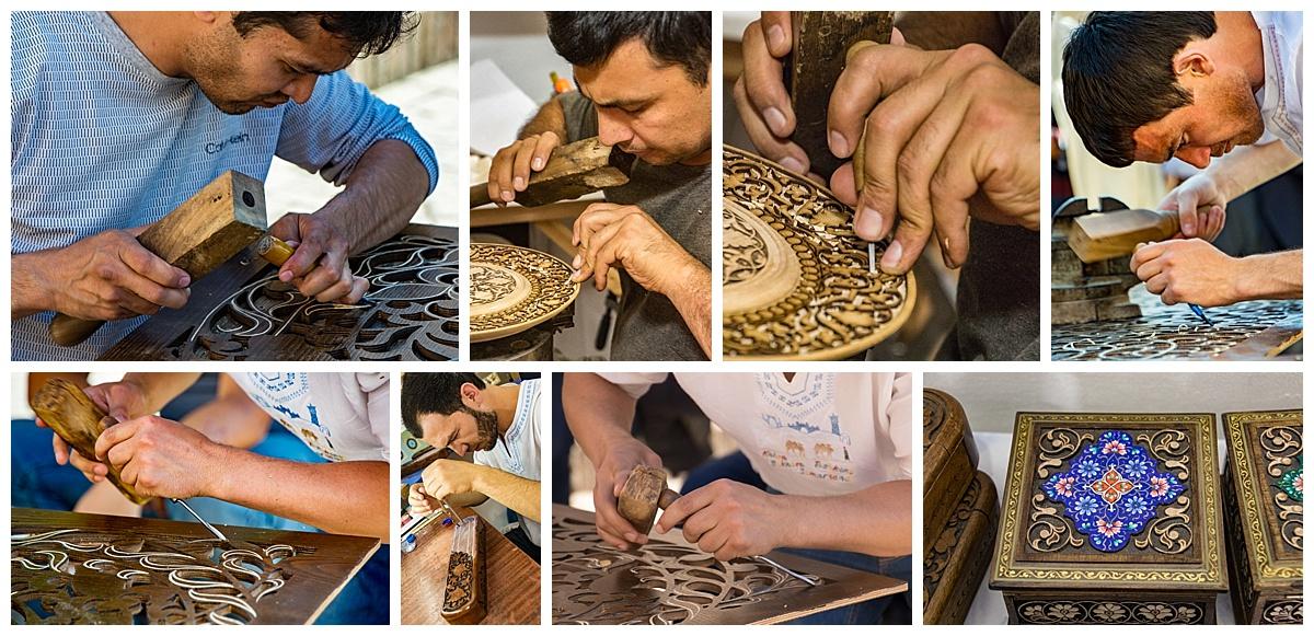 Tashkent, Uzbekistan - artisans