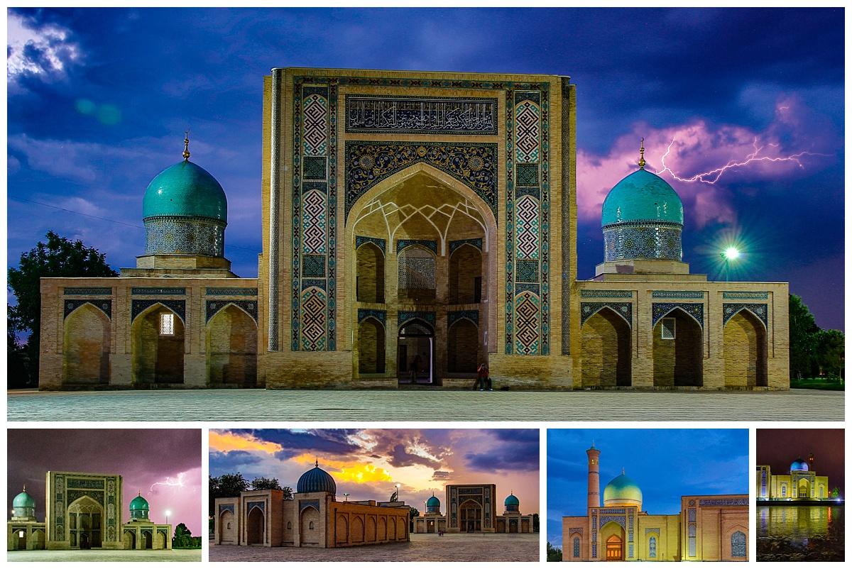 Tashkent, Uzbekistan - storm