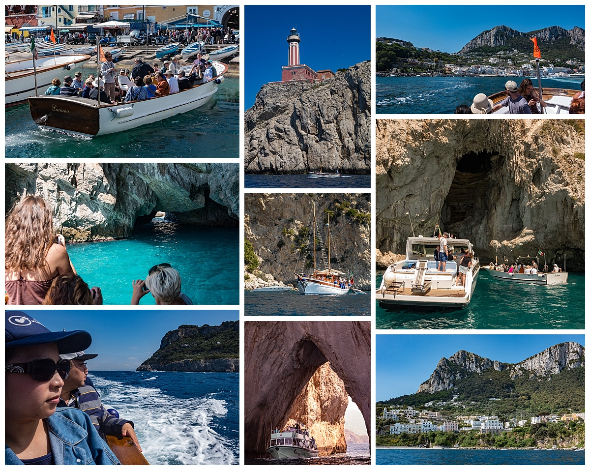 Amalfi Coast, Italy - boat cruise