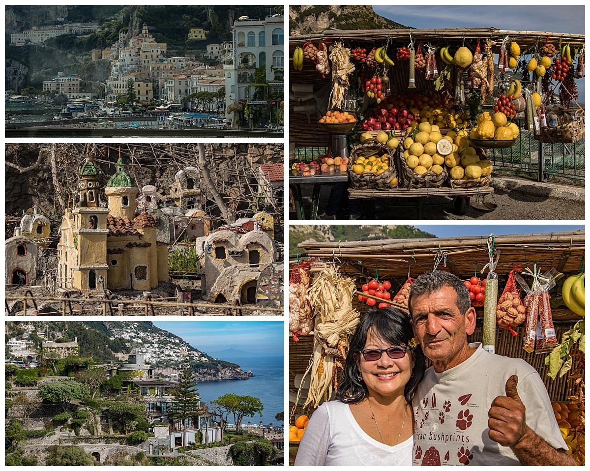 Amalfi Coast, Italy - coast drive