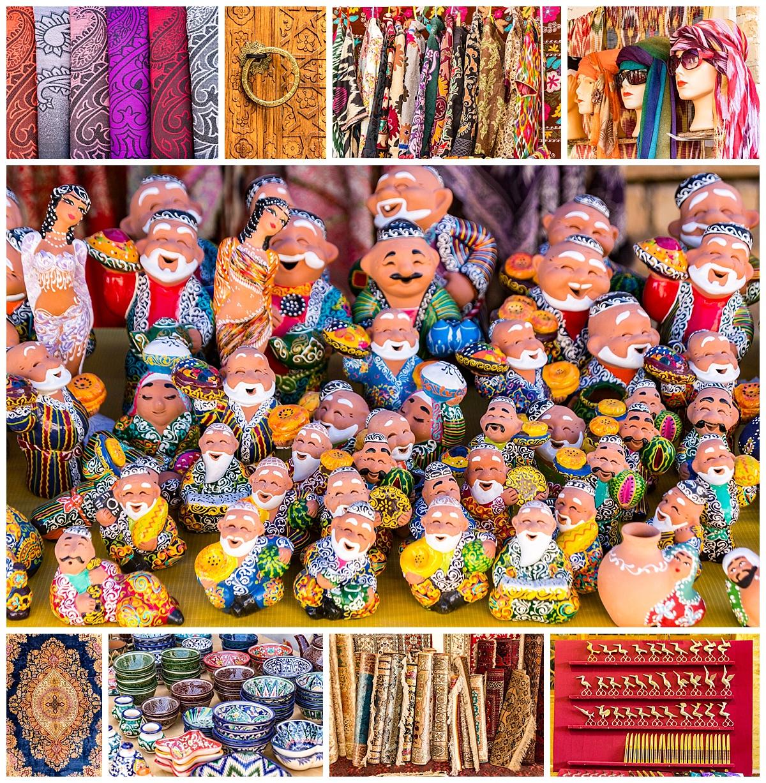 Bukhara, Uzbekistan - patterns