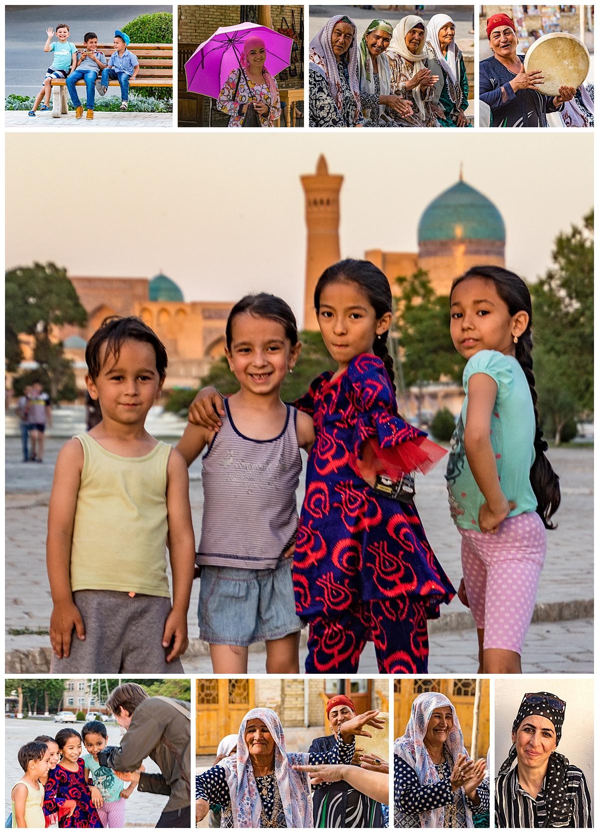 Bukhara, Uzbekistan - people