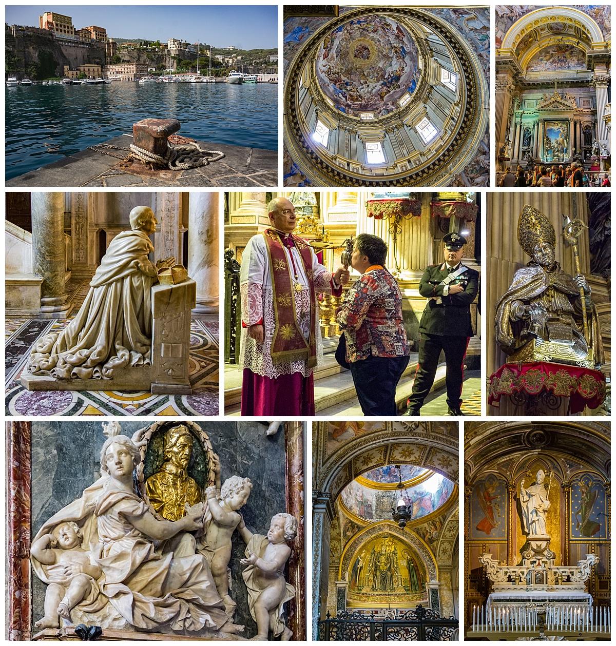 Naples, Italy - church