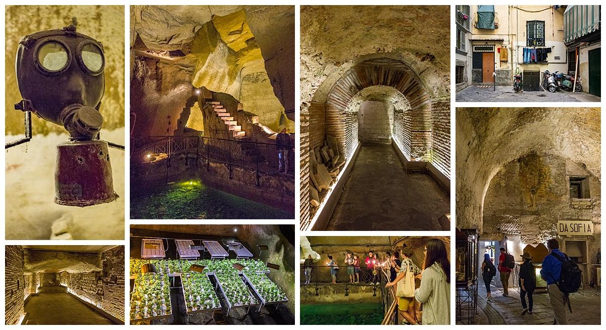 Naples, Italy - underground