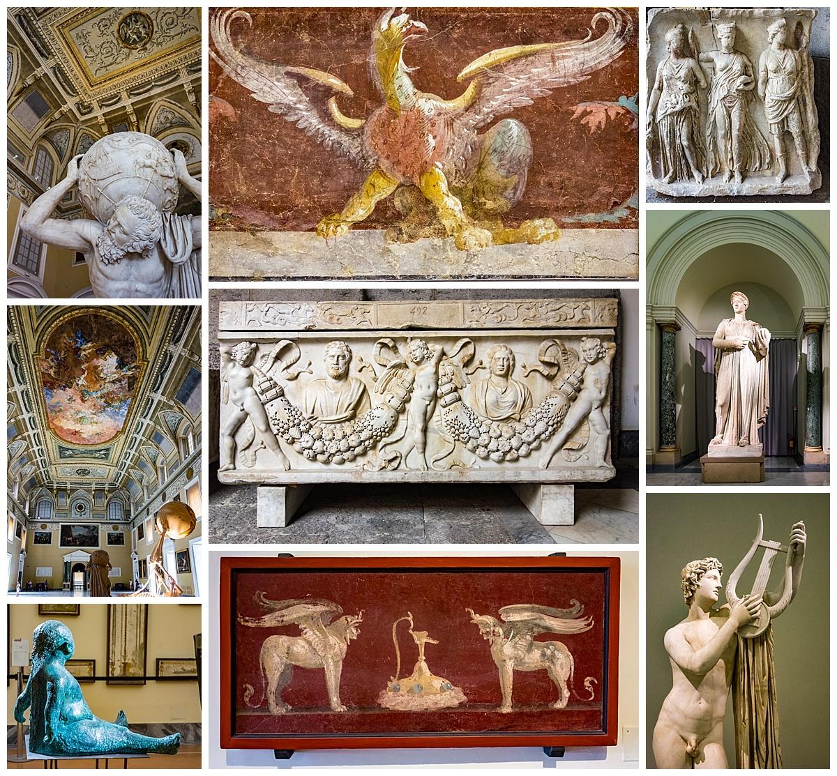 Naples, Italy - museum