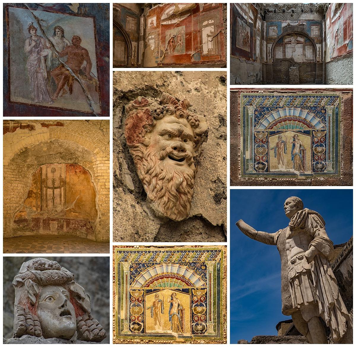 Herculaneum, Italy - frescoe