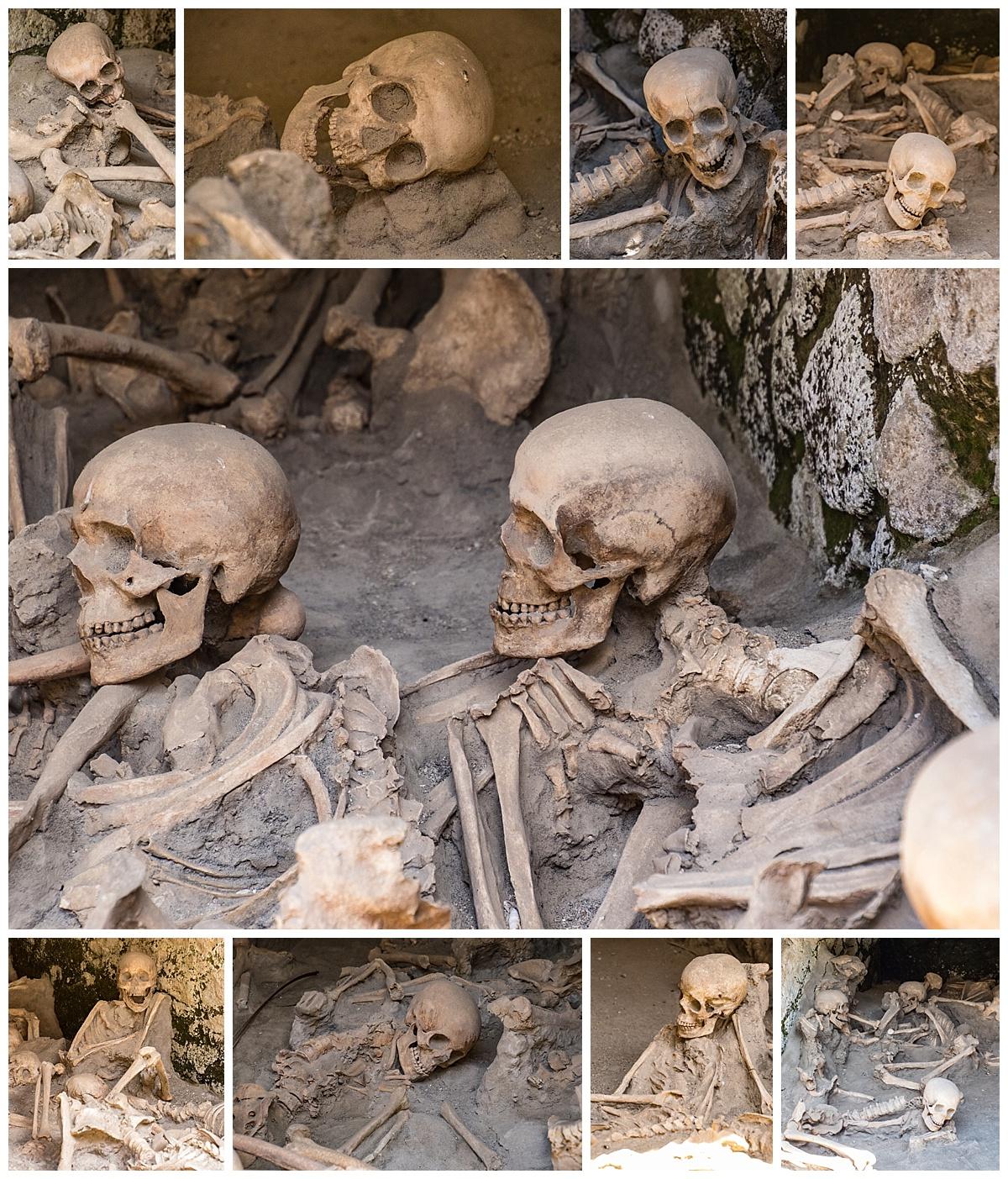 Herculaneum, Italy - bones