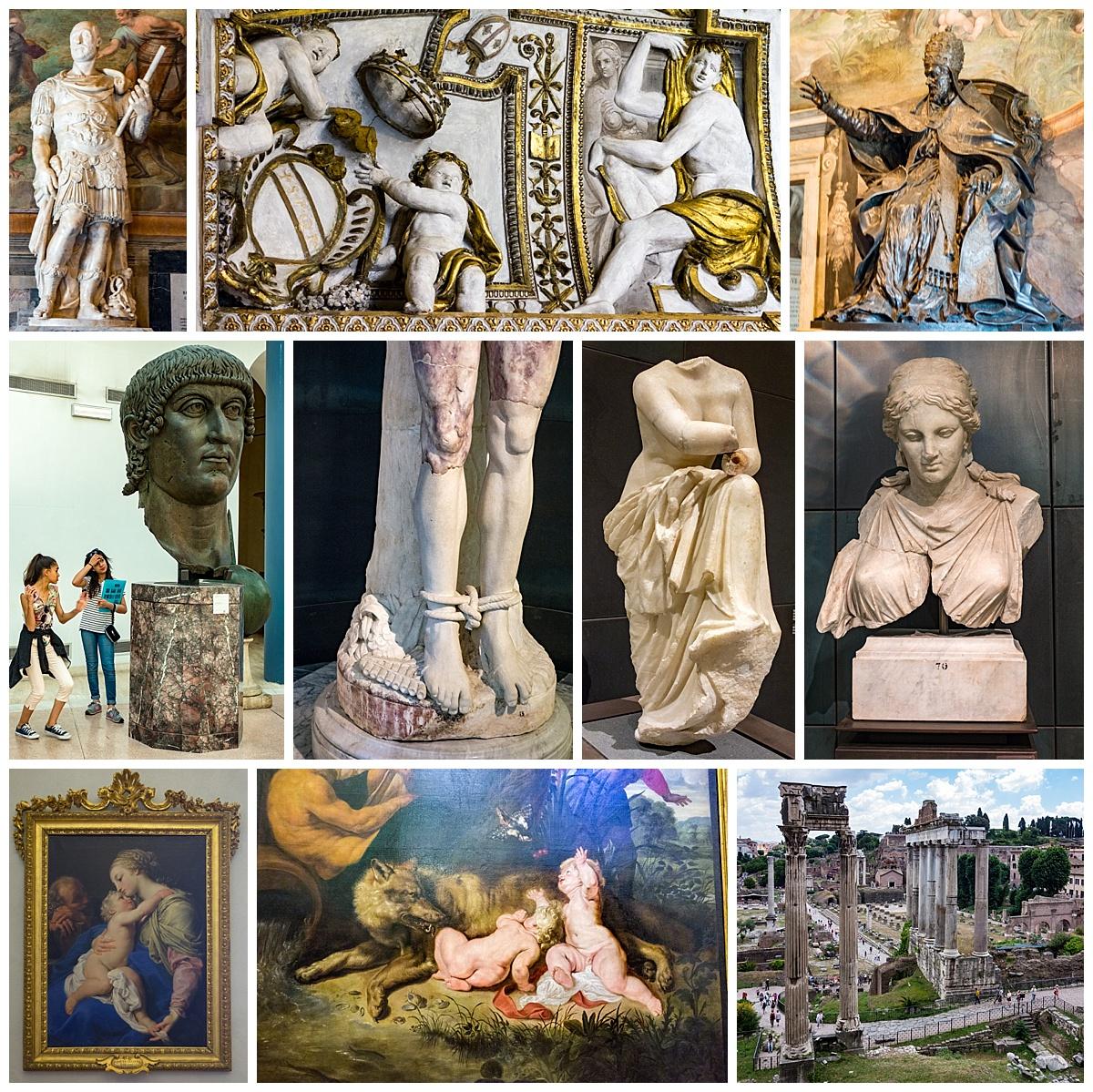 Rome, Italy - capitolini museum