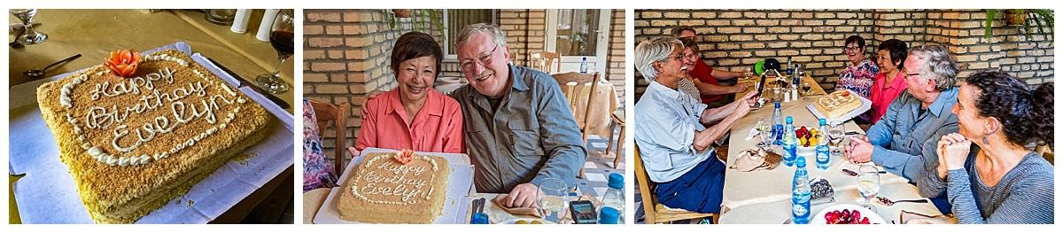 Samarkand, Uzbekistan - Evelyn Johnson's birthday