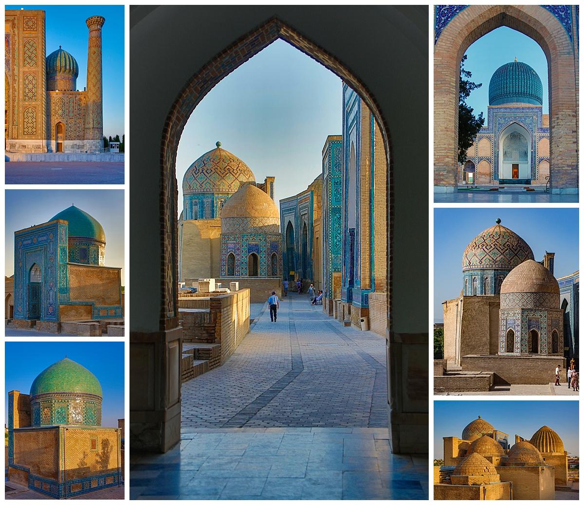 Samarkand, Uzbekistan - domes