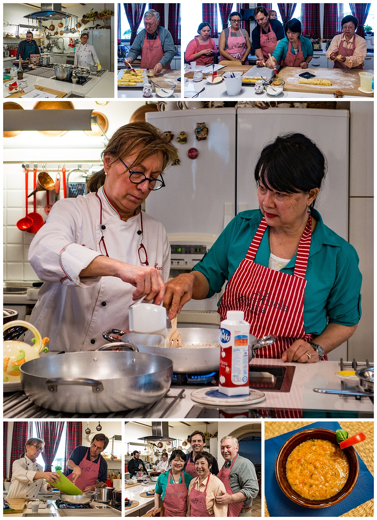 Tuscany Italy - Cooking School