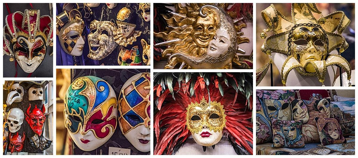 Venice, Italy - masks