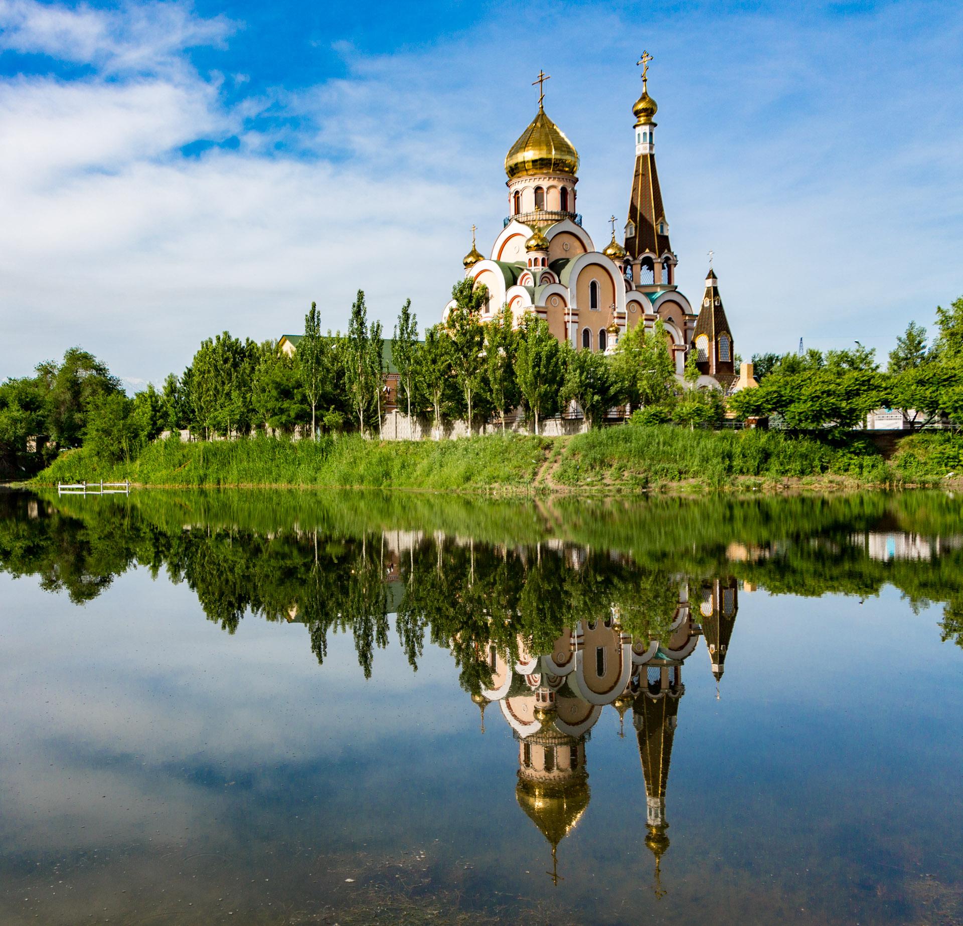 Almaty, Kazakhstan - quaint church