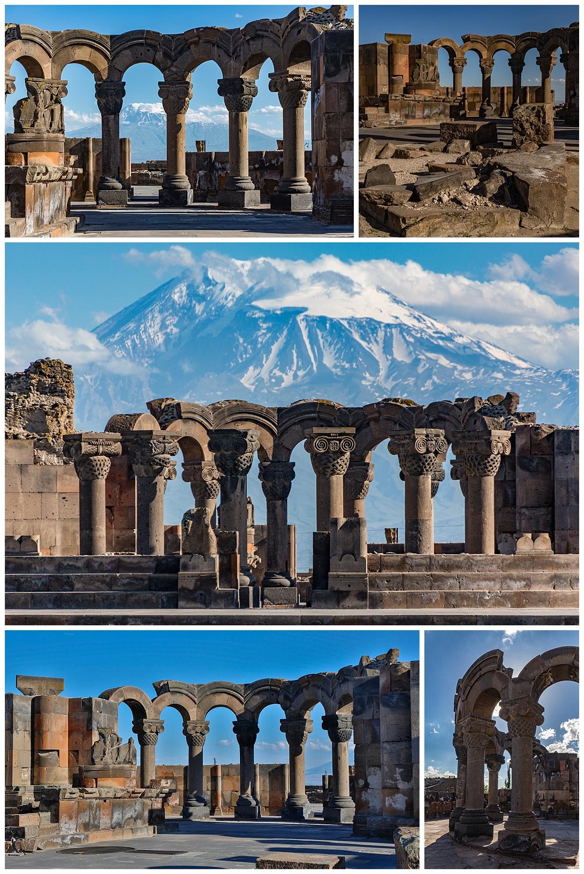 Yerevan , Armenia - mt ararat