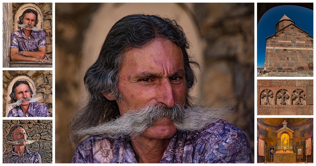 Yerevan , Armenia - mustache