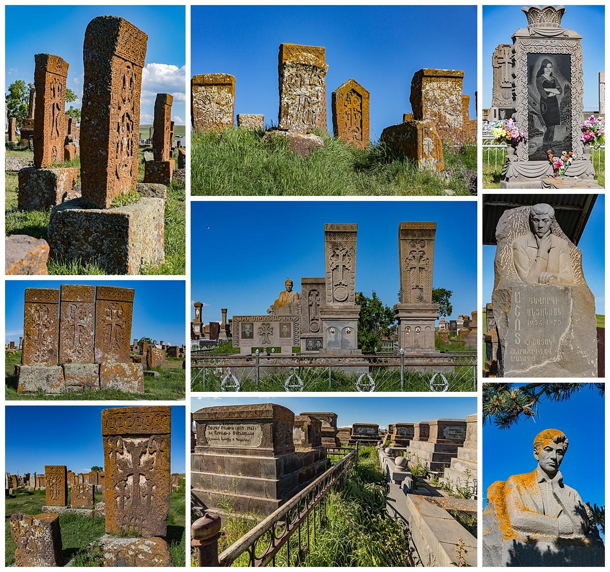 Dilijan, Armenia 4 - Noraduz cemetery