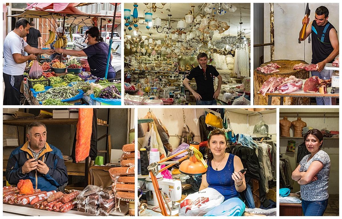 Dilijan, Armenia 5 - market