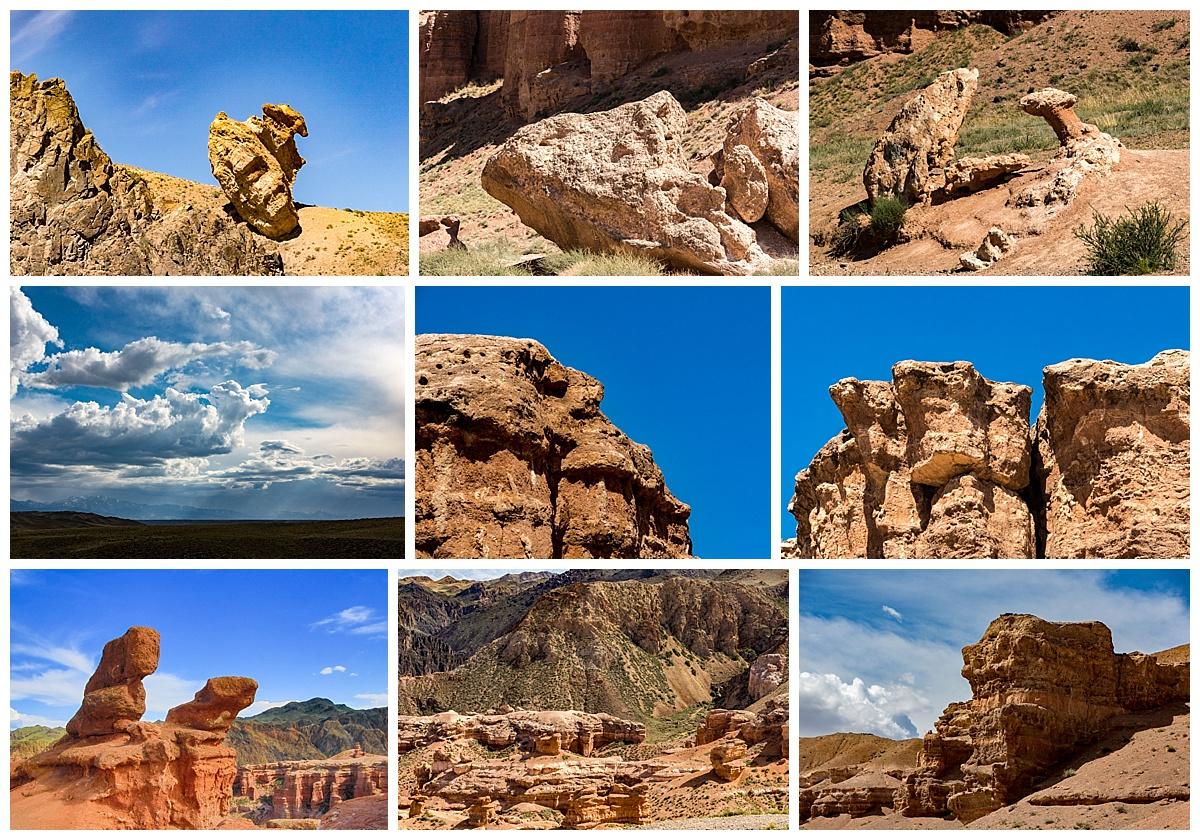 Kazakhstan - charyn canyon animals