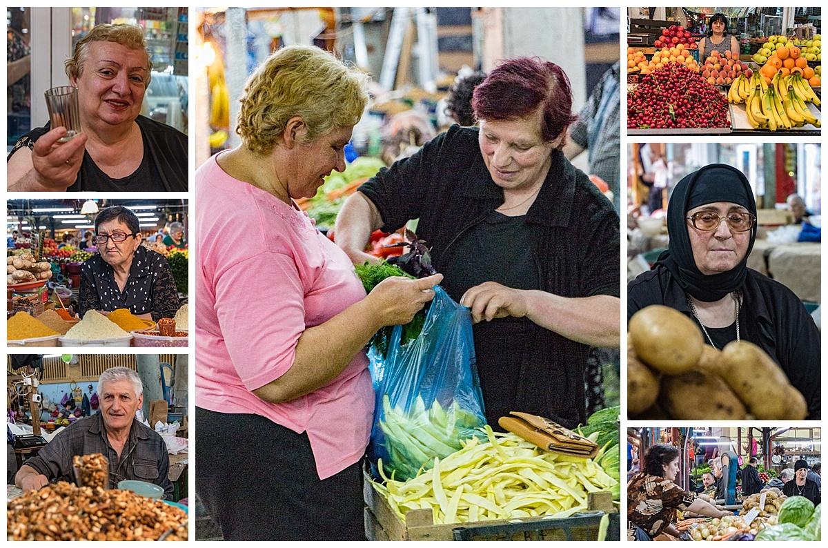 Mestia, Georgia 4 - market