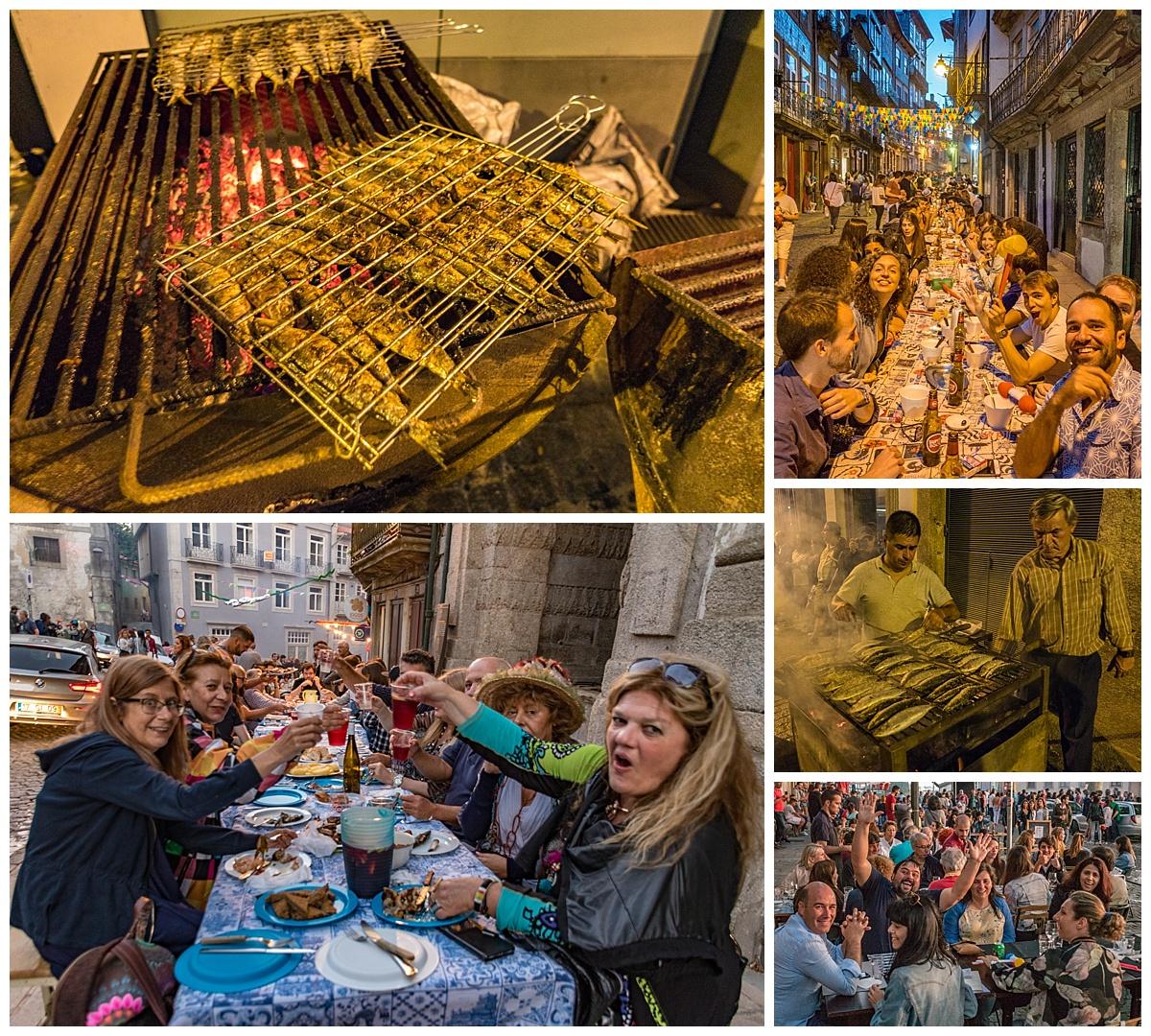 Porto St John Baptist Festival 1 - food