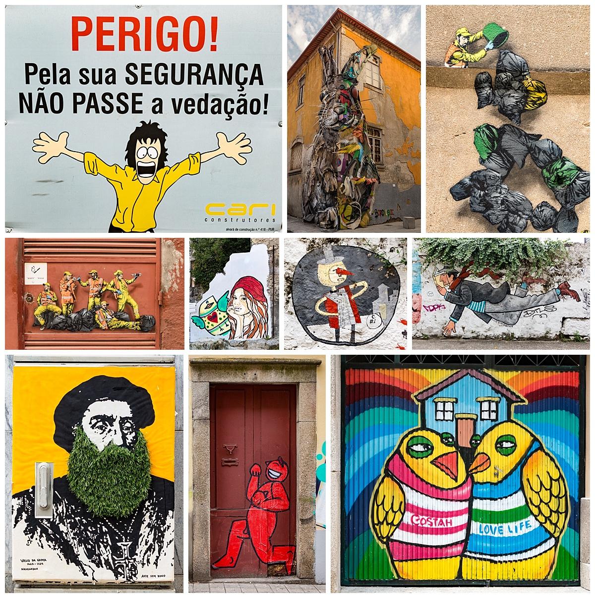 Porto - a6 murals