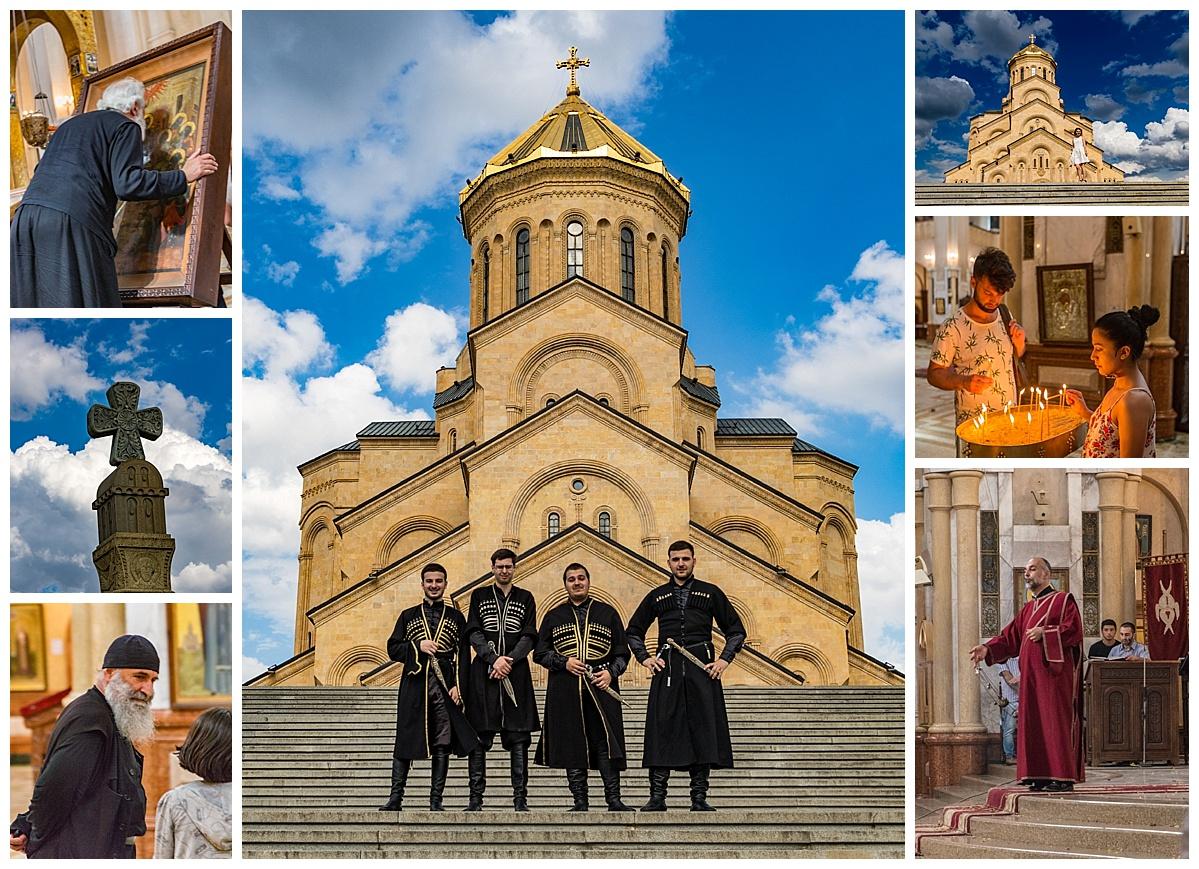 Tbliski, Georgia - cathedral