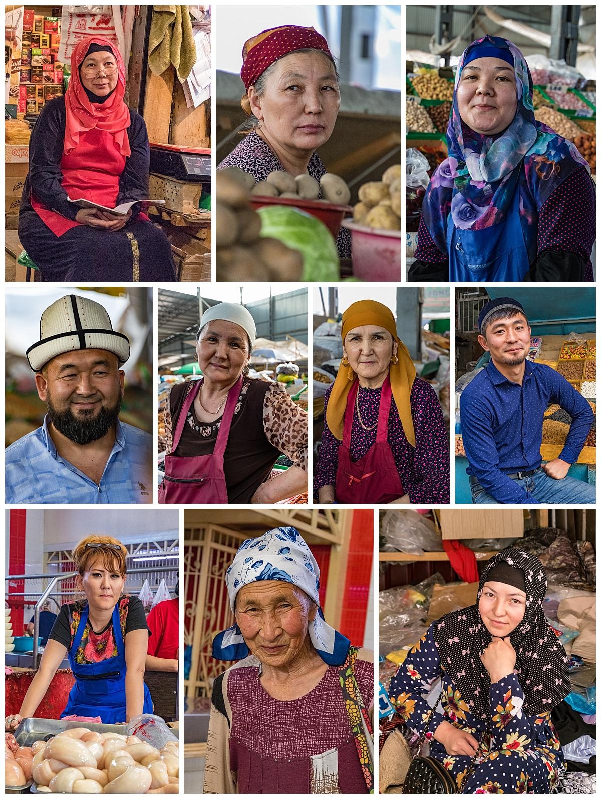 Biskek, Kyrgyzstan - people
