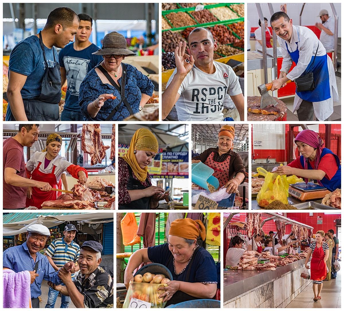Biskek, Kyrgyzstan - people active
