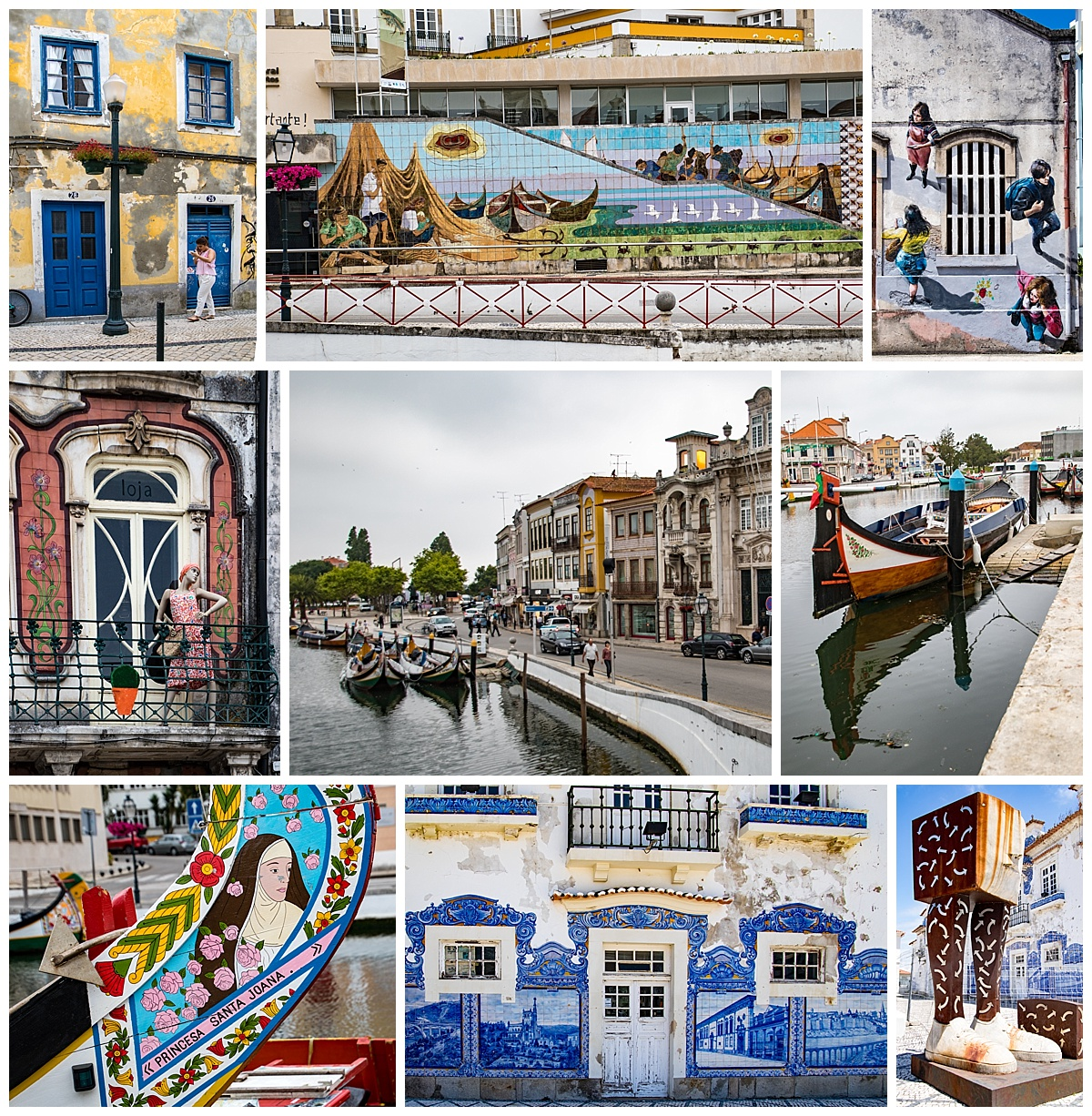 Aveiro 3 - town by day