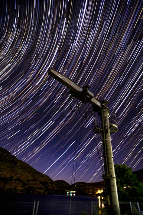 Duoro Valley 4 Crane Star Trails 2017-07-01
