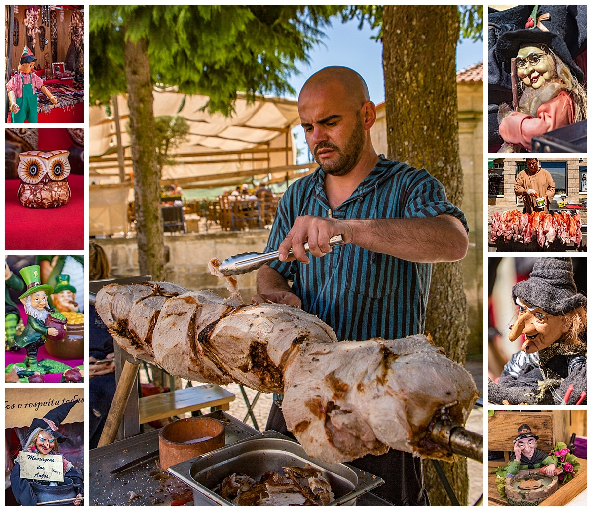 Feira Medieval Festival - food and crafts