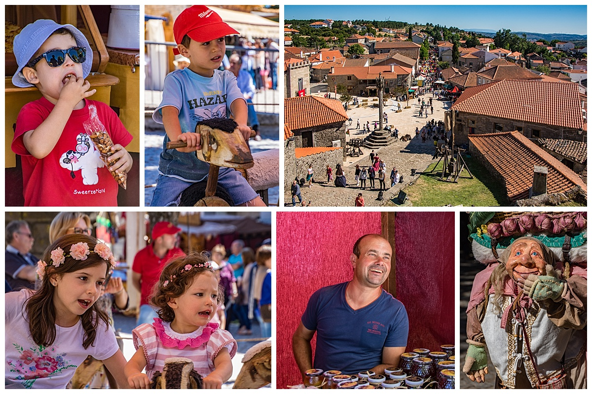 Feira Medieval Festival - kids and village