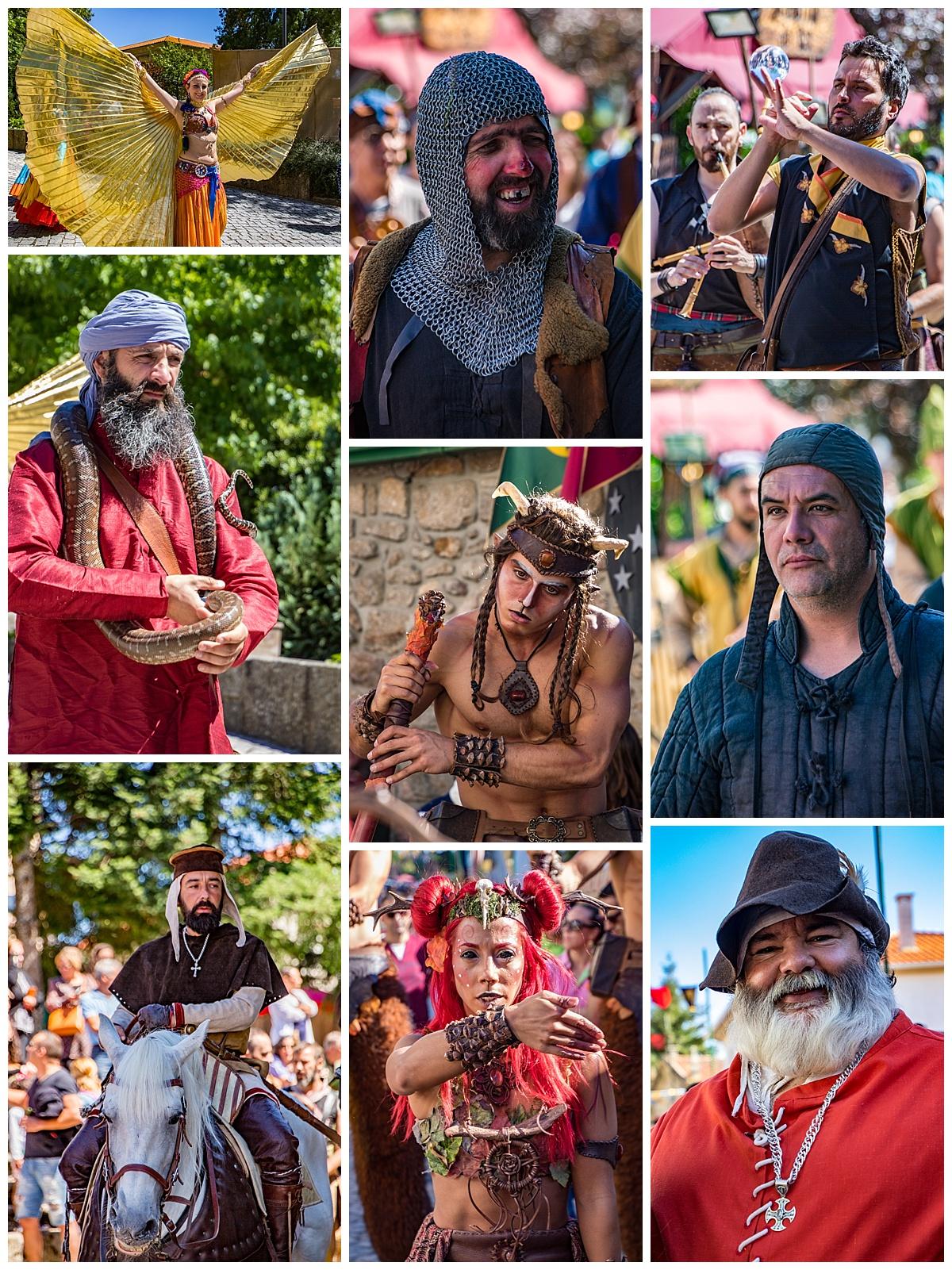 Feira Medieval Festival - parade
