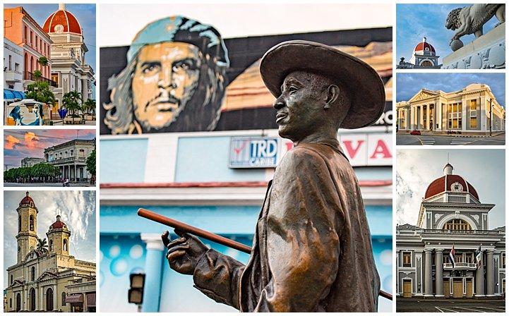 Cienfuegos, Cuba - buildings